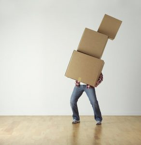 Moving boxes. Make sure to collect some packing expert tips on how to make your move easier.